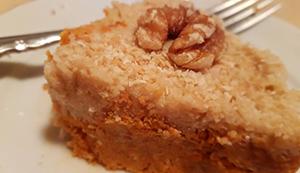 Carrot Cake (raw, vegan)