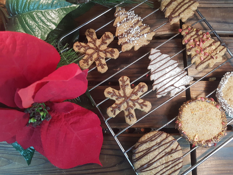 Christmas Cookies Gluten Free Vegan