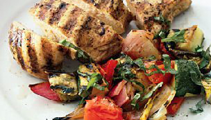 Grilled Chicken & Vegetables