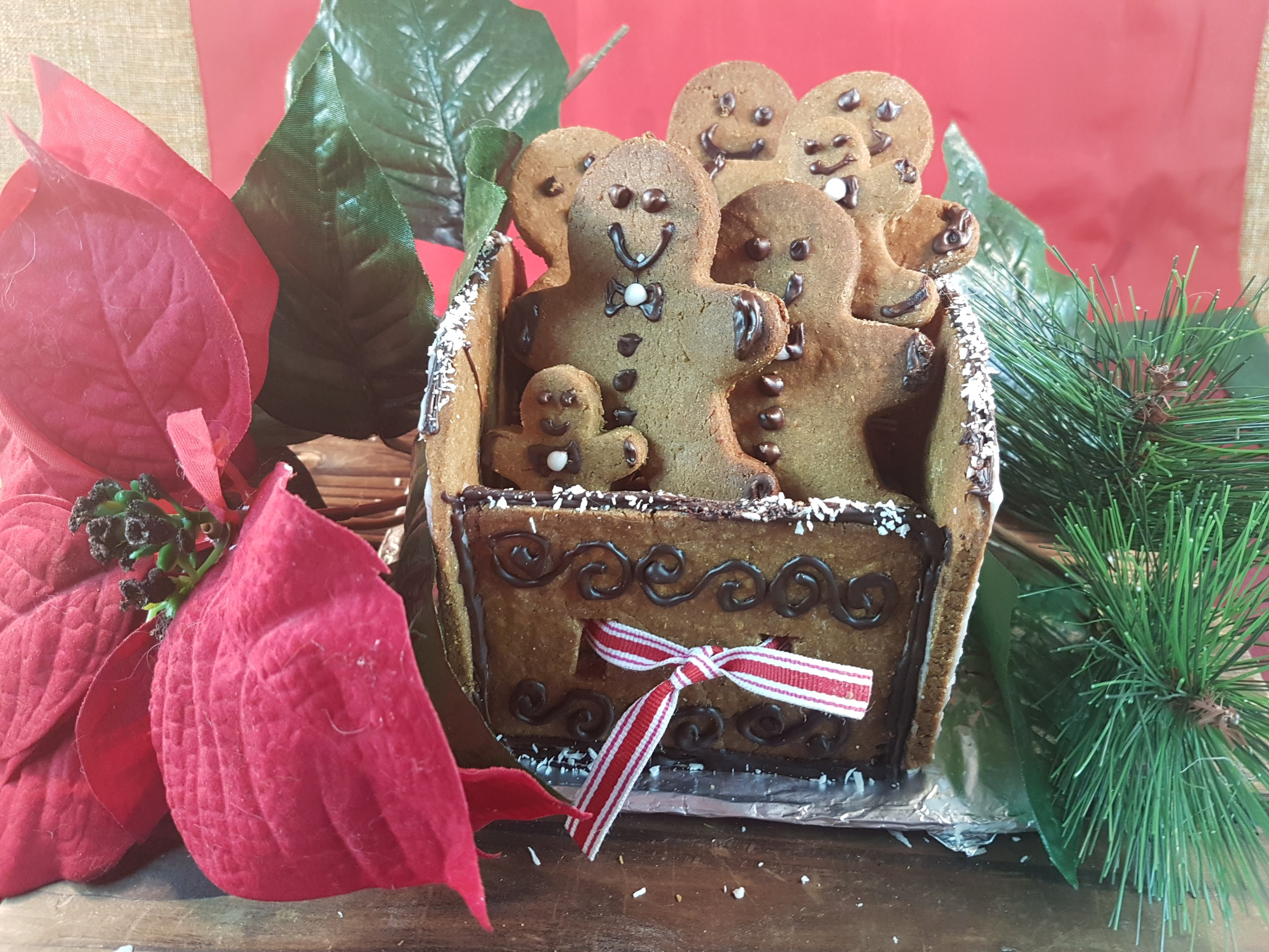Gingerbread Cookies – Gluten-Free, Vegan