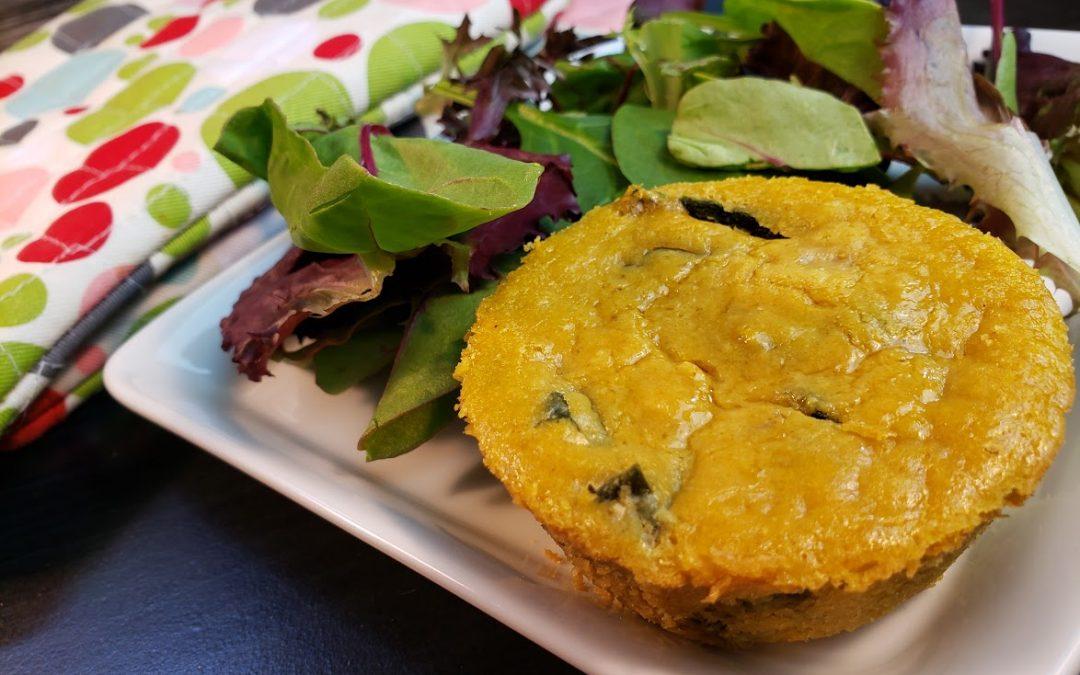 Mini Crust-less Quiches – gluten-free, vegan