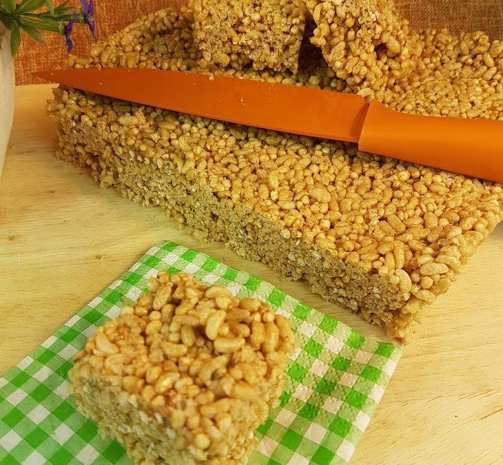 Rice Crisp Squares – Gluten-Free, Vegan