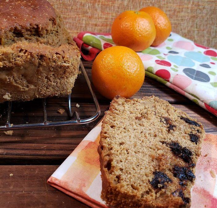 Tangerine Loaf (gluten-free, vegan)