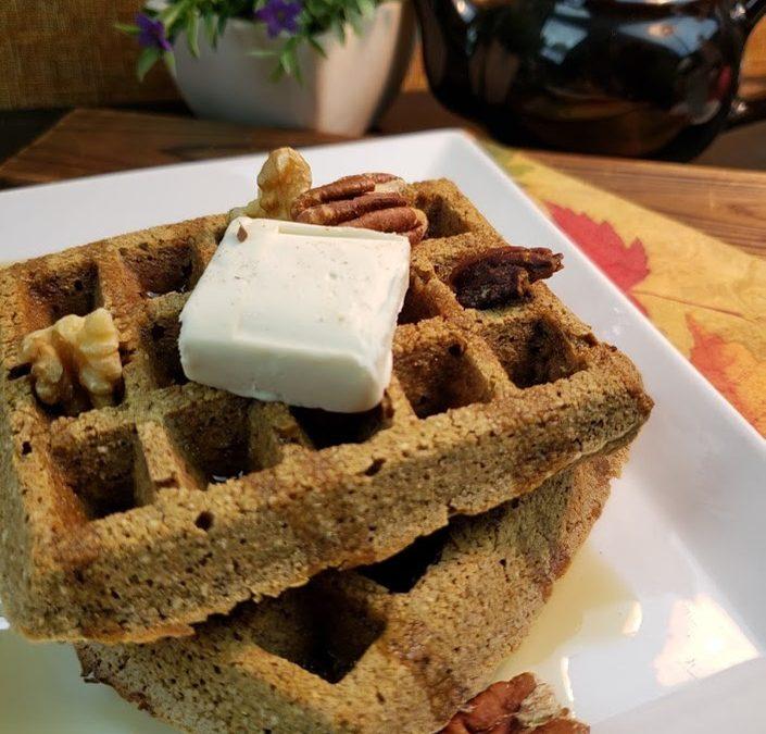 Oat Waffles – Gluten-Free, Vegan